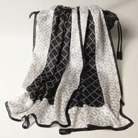 102135 2014 Newest Women's brand Georgette Satin scarf, 100% Silk scarves, rectangle silk scarf, Free Shipping,  Muslim Hijab