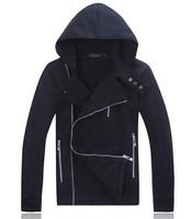 free shipping men's fashion hoodies winter dress men hoody 2014 new brand hoodie coat 25