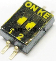 SMD Switch: 1.27mm coding switch dial switch KE-2P double row 2P