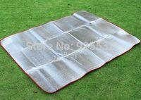 Camping Hiking Festival Aluminium Sleeping Mat Damp Proof 150 x 200 cm