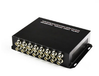 16Ch Video Data Fiber Media Converter Digital fiber Optical video Transmitter/Receiver System with RS485