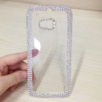 Luxury For HTC ONE M8 Cover Crystal Bling Case For HTC ONE M8 New Mobile Phone Case Rhinestone Cover For HTC ONE M8 FreeShipping