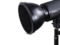 18cm Metal Lamp Shade Reflector+Honeycomb Grid for COMET Mount Studio Flash Light