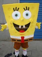 adult Spongebob Mascot Costume Sponge Bob Mascot Costume