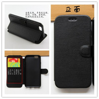 Ultra Thin Wallet Leather Case With Credit Card Slot For Apple iphone 6 Plus 5.5 Inch Free Shipping