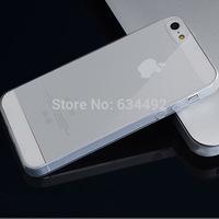 0.05MM TPU Transparent Clear Case Back Cover for iPhone 5 5S Case Capa Celular K20253
