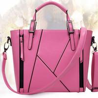 2014 fashion women patchwork handbags new female fall shoulder bags fresh lady crossbody bags hot sales