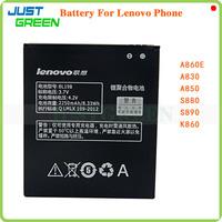 100% Original High Quality BL198 Lenovo Battery 2250mAh For Lenovo A860E A830 A850 S880 S890 K860 Cell Phone in Stock