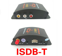 Car TV tuners Car ISDB-T Digital TV Receiver 2 Way AV High Speed Output For Brazil/Japan/Peru/Chile