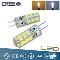 10PCS 2w G4 12V LED Bulb Light Lamp Beads 280 Degrees  Aluminium Material  3Color,Warm White, White,Blue Light,