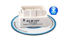 New Version ELM327 Bluetooth V2 1 OBD2 Car scanner with bluetooth Interface white color on