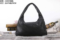 High-End Customized Hand Woving B&V Brand Designer Genuine Leather Women Handbags,Soft Lambskin Shoulder Bag For Women