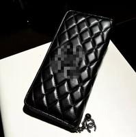 famous brand Hot 2014 New Fashion Women's Wallet PU Leather Women Long Wallet Purse Clutch Wallet Coin Purse