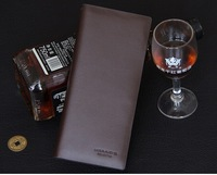 High-grade packing famous brand 2014 Men Wallets  Business Luxury genuine Leather Wallets Pockets Card Bifold Purse