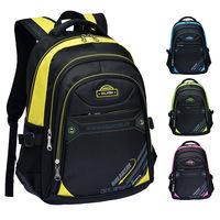 """Free shipping sport backpack polyester patchwork 15"""" laptop backpack men backpacks school bag"""