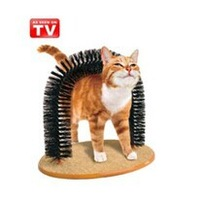48pcs/lot Purrfect arch cat groomer brush cat's coat with retail box free shipping