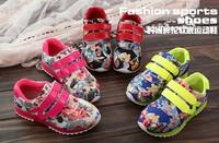 Autumn Boys/Girls Fashion Mini Floral Print shoes Children's Korean Style Casual Shoes
