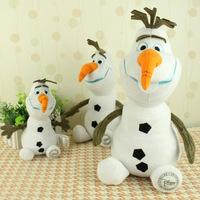 2014 New Frozen OLAF Snowman Cartton Movie Plush Doll 25 / 30CM Toys Brinquedos Kids Boys Girls Children Wholesale Dropship