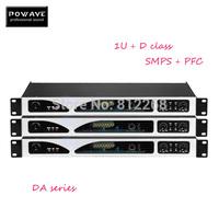 (Tanzania free shipping) 1 pieces DA-1000 D class amplifier 2X1000W professional power amplifier