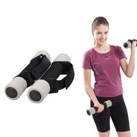 pair women dumbbell 0.5kg/pc child foam handle sponge fitness exercise dumbbell