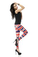 BOB shop 948 digital printing gothic sport punk fitness women leggings legging leggins Pencil pants wholesale