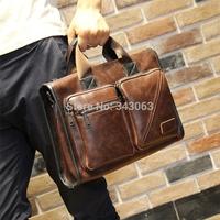 Original brand Crazy Horse men messenger bags desigual travel bag leather body bags impresso Vintage Bag bolsos handbag 030