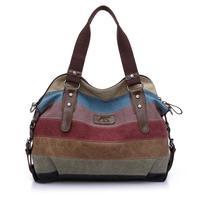 Fashion canvas bag handbag women's handbag 2014 women's shoulder bag messenger bag