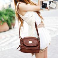 2014 new free shipping casual all-match tassel zipper women bag women messenger bags shoulder bag