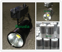 20w led track light 110-120lm/w factory price Application Clothing stores/jewelry stores ect black/white/silver house