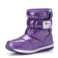 The new winter 2014 children's shoes, children's boots  boy girl in large, medium cotton shoes children students shoes