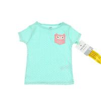 New 2014 Summer Carter Baby Girl short sleeve T shirts Kids Clothes girls 100% Cotton T Shirt gir tops