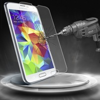 For Samsung Galaxy S5  Tempered Glass Screen Protector with Ultra Thin 0.26mm & 2.5D Rounded Border  free shipping