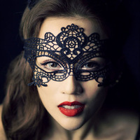 EMS free Halloween mast dance party supplies sexy lace mask for women 100pcs/lot