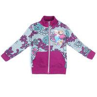 Free Shipping 2014 New Autumn Girls Frozen Outerwears Kids Sister Princess Warm Coat Baby frozen Printed jacket Cartoon Clothing