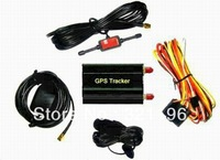 5 pcs Free shipping Vehicle/smart GPS Tracker TK103B Quad Band Cut Off Fuel Web-based SD card Gps Tracking for vehicle motor