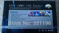 5pc GSM GPRS GPS Tracker TK102B tracking Full Accessories Mini Car Vehicle Tracker Mini Global Real Time 4 bands Tracking Device