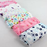 2014 Girls Promotion Cuecas Infantil Panties Bread Under Bb Underwears Pants Triangle Kids Children Briefs, Mixcolor,12pcs/lot