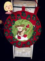 Free shipping Santa countdown calendar listing