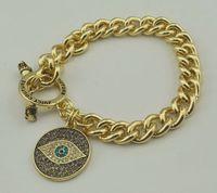 Fashion Gold Women Pendants Bracelets Shiny Rhinestone Bird Eye Charm Bracelet Laday Brand Braneket  Top Selling JC JeweLry
