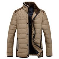 Male Casual down jacket men's warm down coat winter duck down Outwear / size M-XXXL