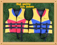 Free shipping Children's life jackets / Baby Boy Swim Life Jackets for 3-12Year Old/Swimming Jacket Buoyant Life Saver Vest