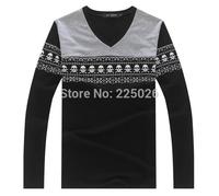 2014 Hot Sale Summer Tshirt Men's Long Sleeve Shirt Cartoon M-XXL New Fashion Sports Cotton Fall Breathable Jogging Beach M-XXL