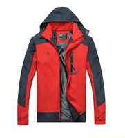 2014 men's hiking jacket, New men jacket outdoors windbreaker casual outwear fashion overcoat