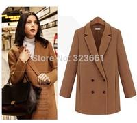 2014 fall fashion  women's plus size winter clothing Coat british style abrigos mujer casual manteau femme jakets