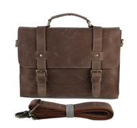 Men's Classic High quality handbags genuine leather big handbags briefcase laptop bags