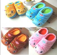 Free Shipping Warm Kids Indoor Floor Shoes Winter Children Home Slippers Pantufa Cute Girls/Boys Cartoon Home Shoes chinelo 013