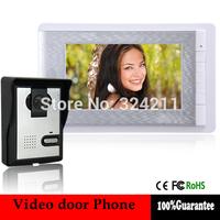 Villa Wired Night Visual Color Video Door phone intercom System 7 Inch TFT LCD Monitor 600TVL Camera Handfree