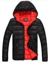 Free shipping New 2014 warm winter jacket for men Super light down jacket wadded Down jackets fashion coat snow warm cold