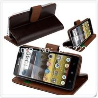 5 Colors Flip PU Leather Case Lenovo P770 / Flip Lenovo P770 Case Cover Free Shipping