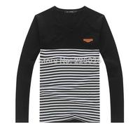 2014 Hot sale Summer Tshirt T-shirt Men's Long Sleeve Shirt Cartoon Shirt M-XXL New Fashion Sports Cotton Fall Breathable Sweat